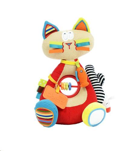 Dolce Toys - Activiteiten Knuffel - Siamese Kat