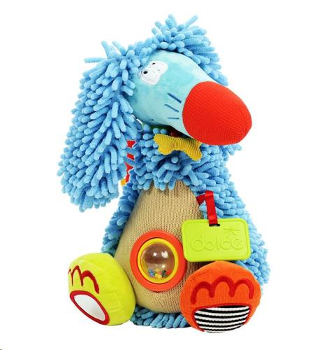 Dolce Toys - Activiteiten Knuffel - Afghaanse Windhond
