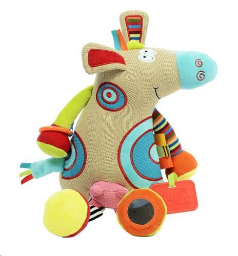 Dolce Toys - Activiteiten Knuffel - Koe