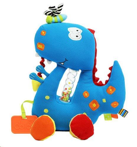 Dolce Toys - Activiteiten Knuffel - Dino