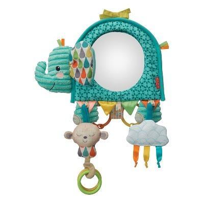 Infantino - Soft - Go Gaga - Elephant Activity Mirror