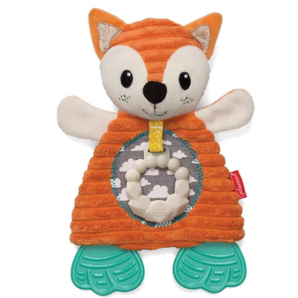 Infantino - Soft - Go-Gaga - Cuddly Teether Fox