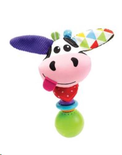 Yookidoo - Rammelaars - Shake Me Rattle - Cow - One Size