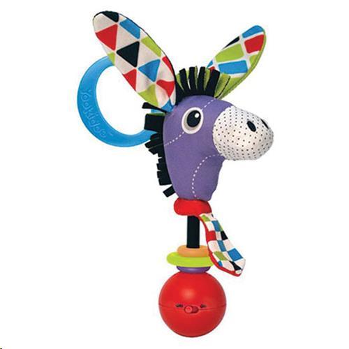 Yookidoo - Rammelaars - Shake Me Rattle - Donkey - One Size