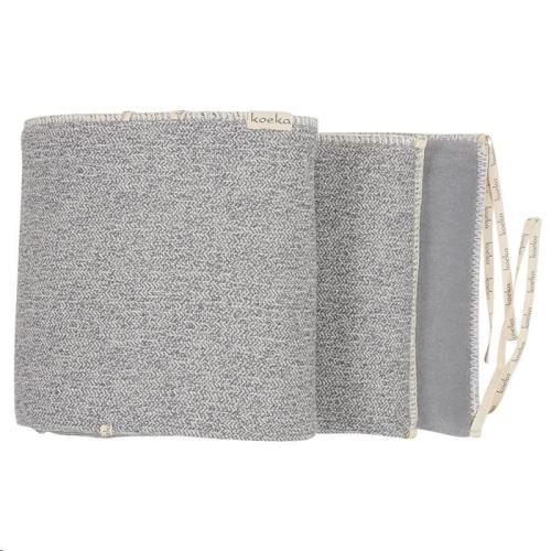 Koeka - Box- / Bedbumper Vigo Sparkle Grey