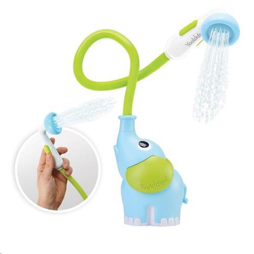 Yookidoo - Badspeelgoed - Elephant Baby Shower - Blue - One Size