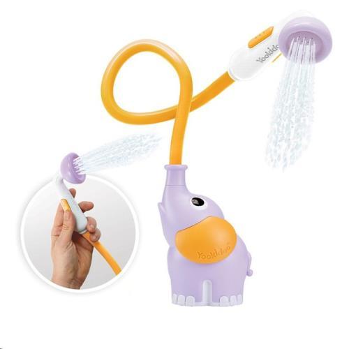 Yookidoo - Badspeelgoed - Elephant Baby Shower - Lila - One Size