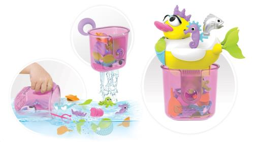 Yookidoo - Badspeelgoed - Jet Duck - Create A Mermaid - One Size