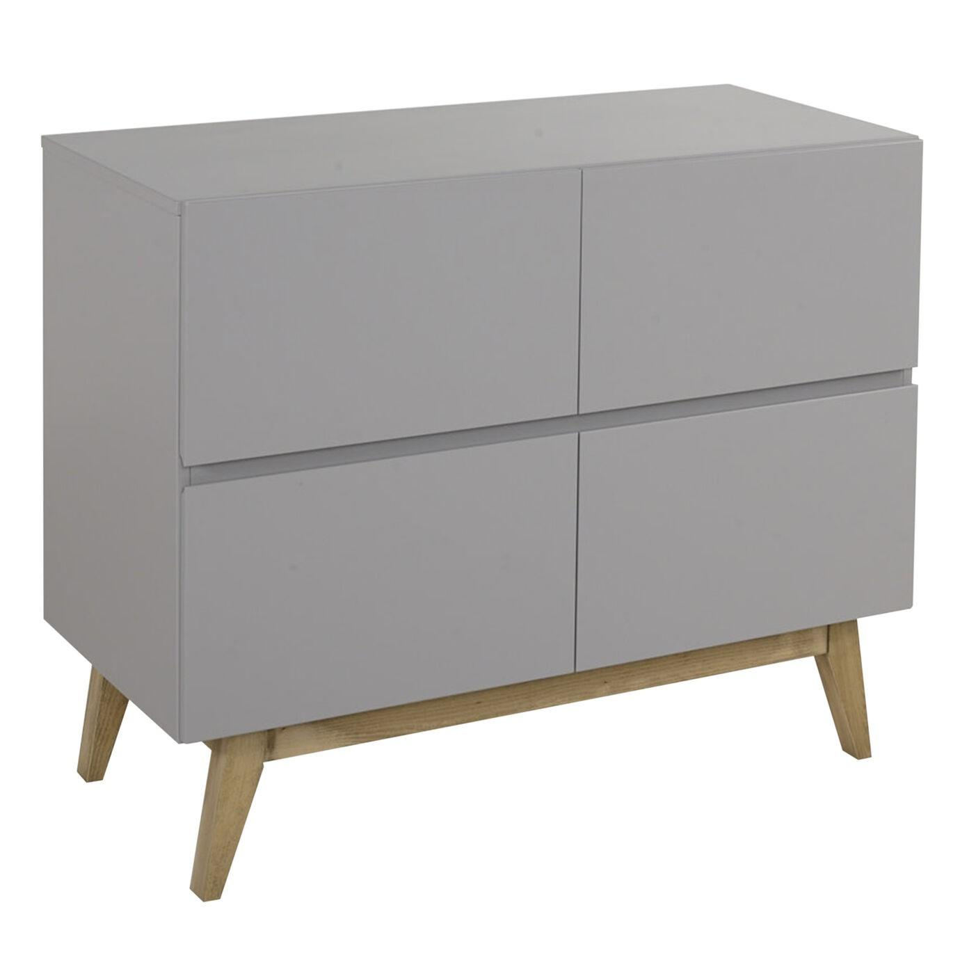 Quax - Trendy Commode 4 Laden - Griffin Grey