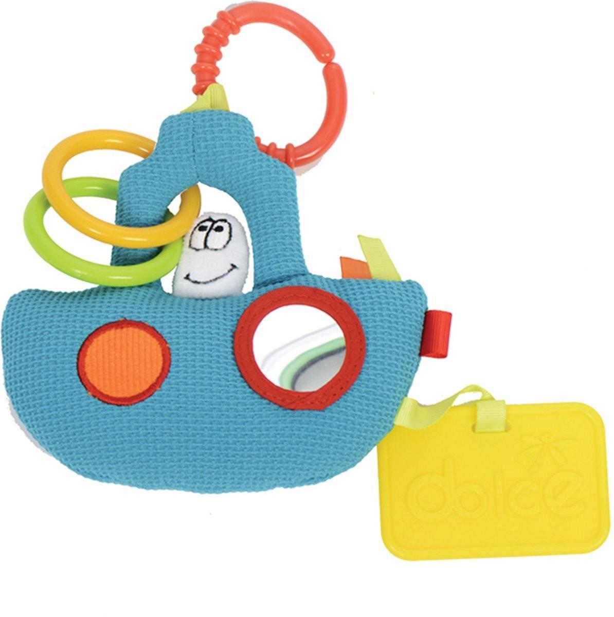 Dolce Toys - Activiteiten Knuffel - Slaapboot - One Size