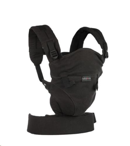 Babylonia baby Carriers - Draagdoek Tricot-Click - Black - One Size