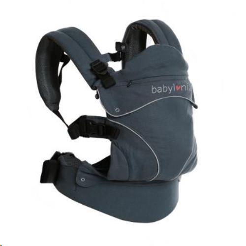 Babylonia baby Carriers - Draagdoek Flexia - Deep Grey - One Size