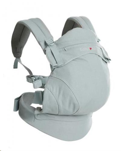 Babylonia baby Carriers - Draagdoek Flexia - Soft Grey - One Size