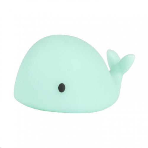 Flow - Nachtlamp - Moby Mini - Groen - One Size