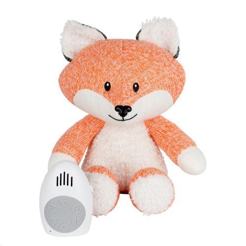 Flow - Knuffel Met Hartslag Robin The Fox - Orange