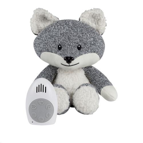 Flow - Knuffel Met Hartslag Robin The Fox - Grey