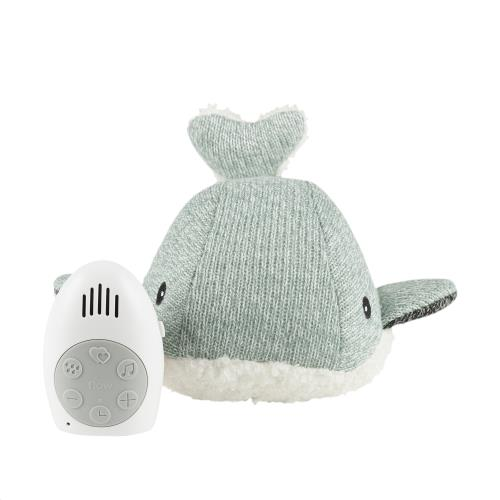 Flow - Knuffel Met Hartslag Moby The Whale - Green