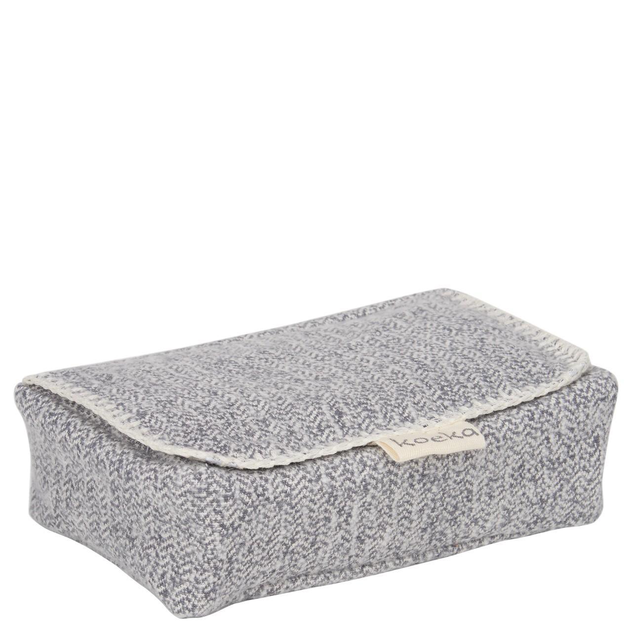 Koeka - Hoes Voor Babydoekjes Vigo Sparkle Grey