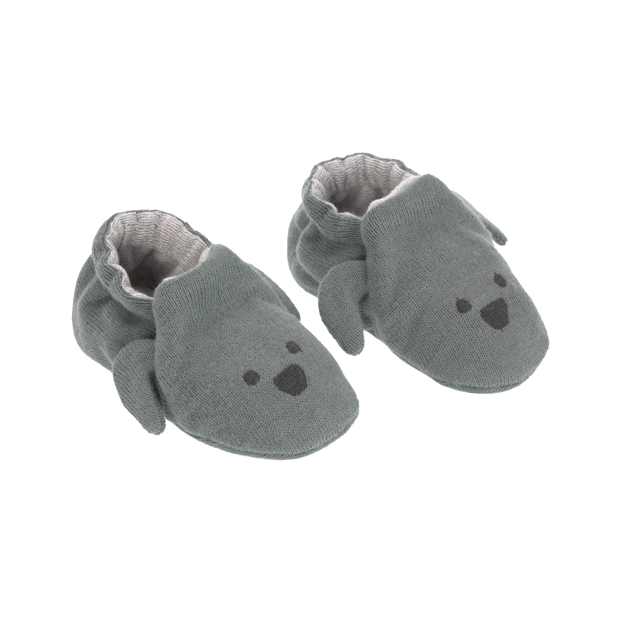 Lassig - Baby Shoes Gots Little Chums Dog, One Size