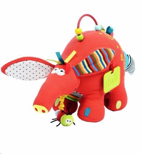 Dolce Toys - Activiteiten Knuffel - Baby Aardvark - One Size