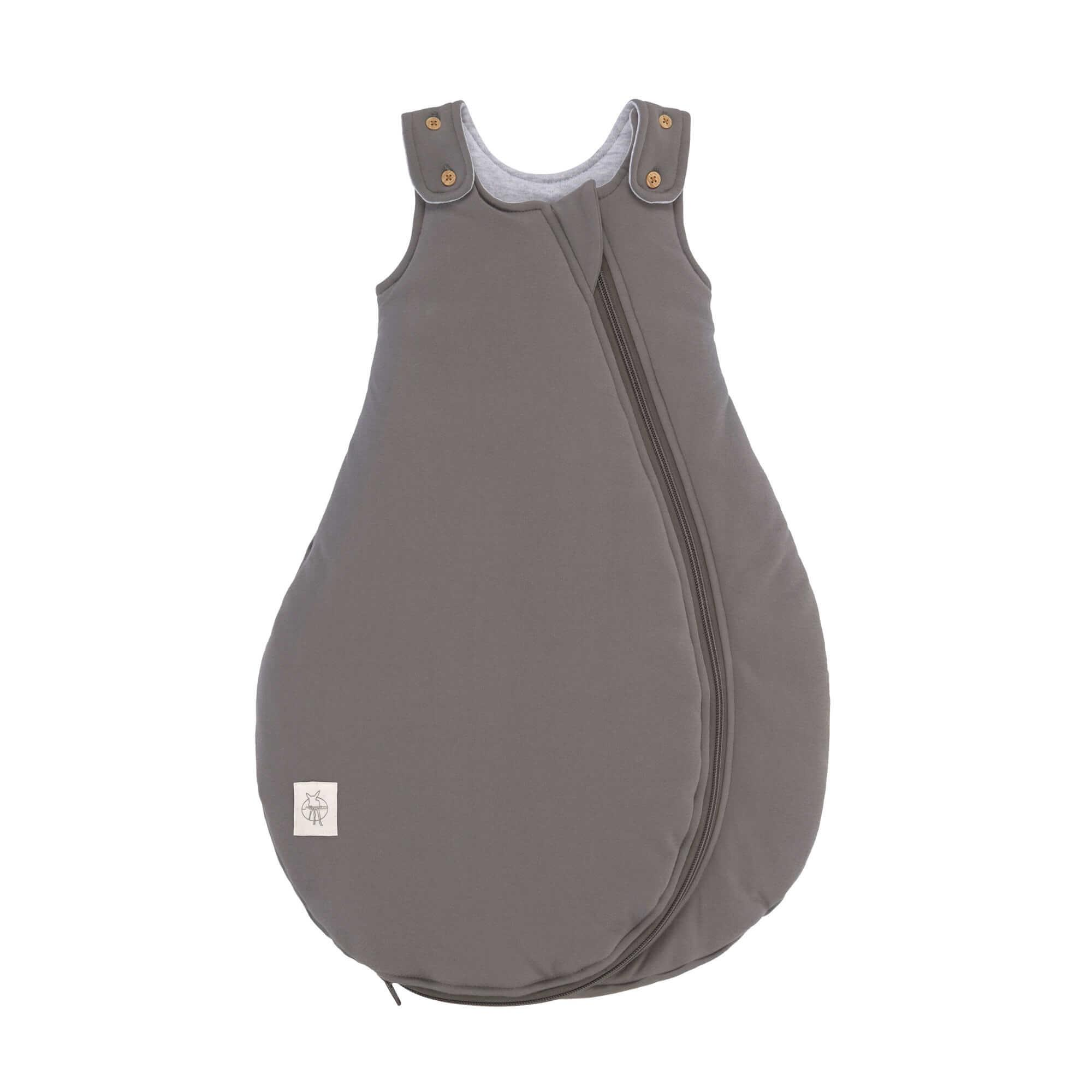 Lassig - Baby Sleeping Bag anthracite, 50/56 0-2M, all season edition