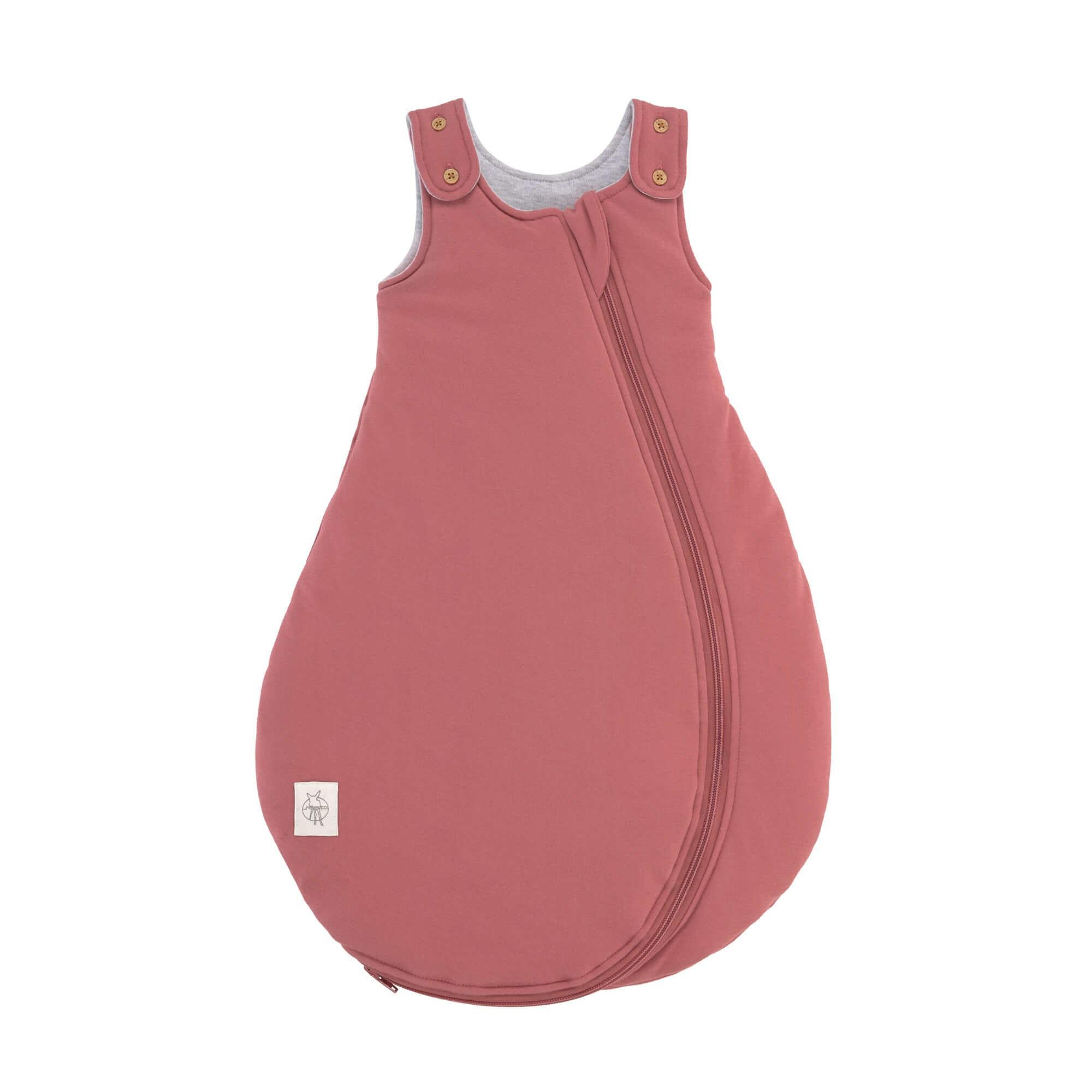 Lassig - Baby Sleeping Bag rosewood, 50/56 0-2M, all season edition