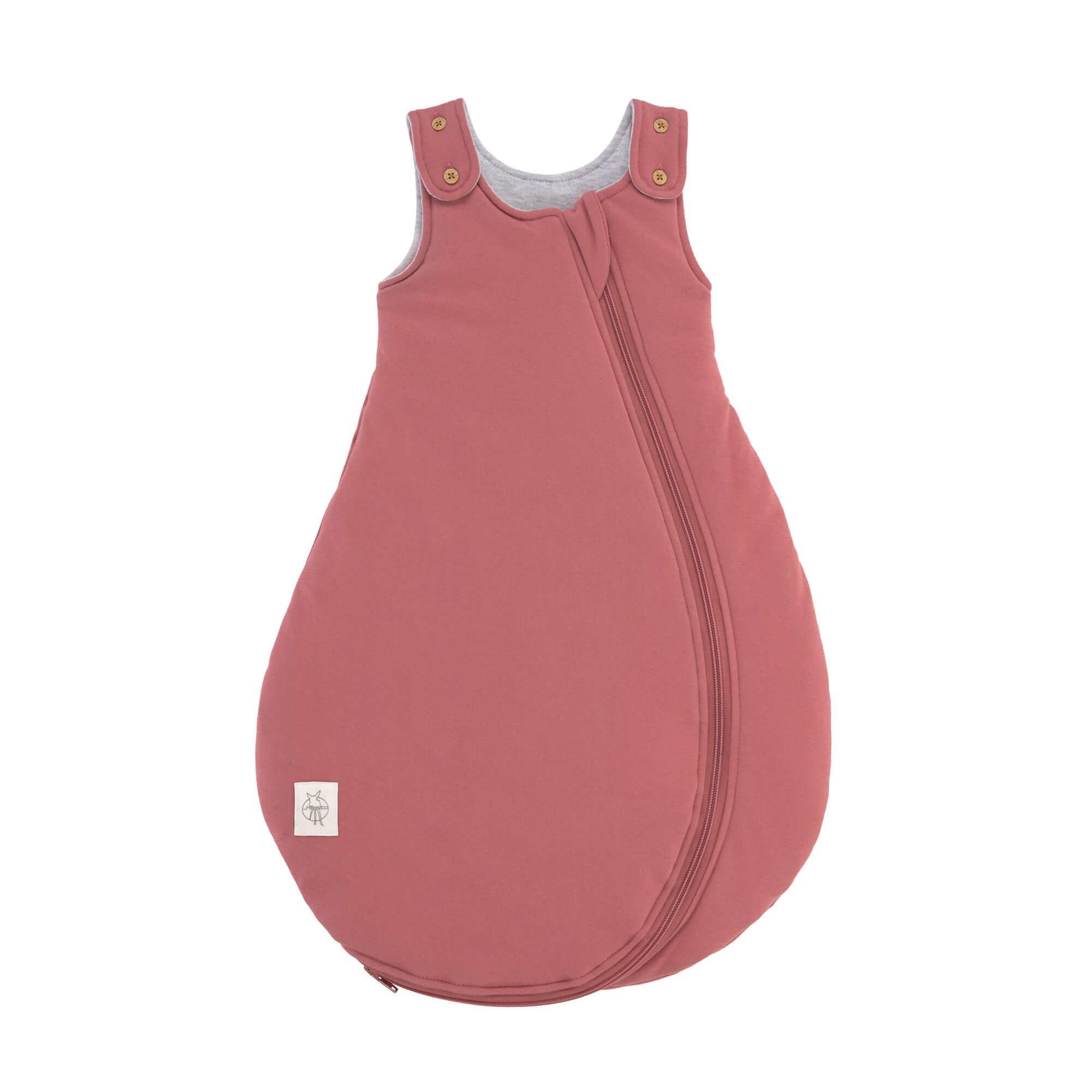 Lassig - Baby Sleeping Bag rosewood, 62/68 2-6M, all season edition