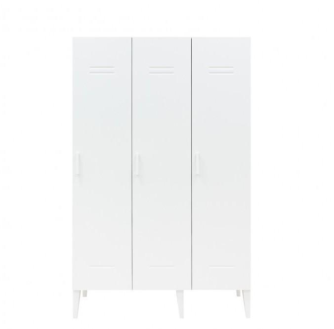 Bopita - 3-deurskast Locker Wit