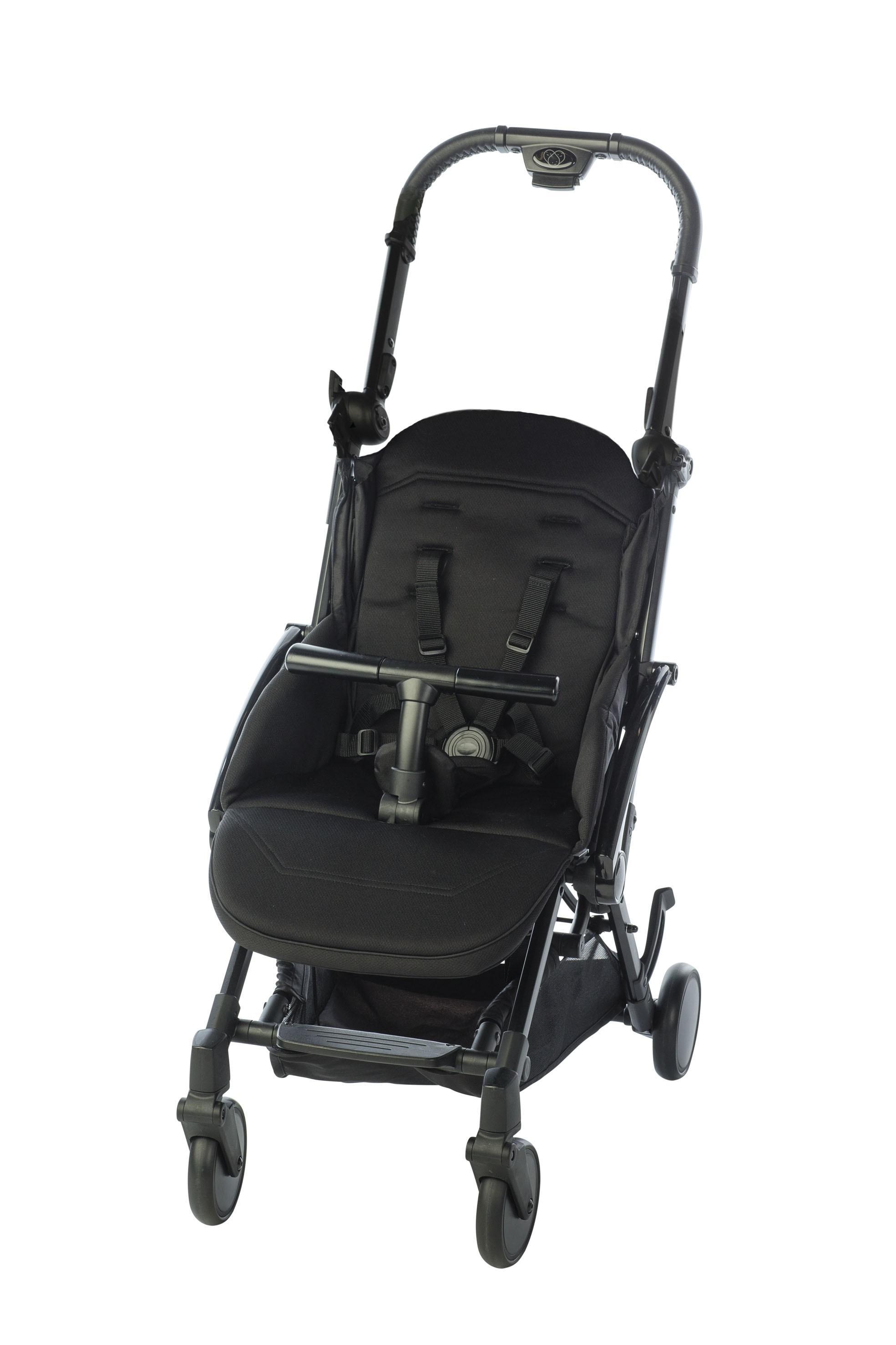 Pericles - Buggy Xs Comfort Plus Black (Zonder Kap)(N)