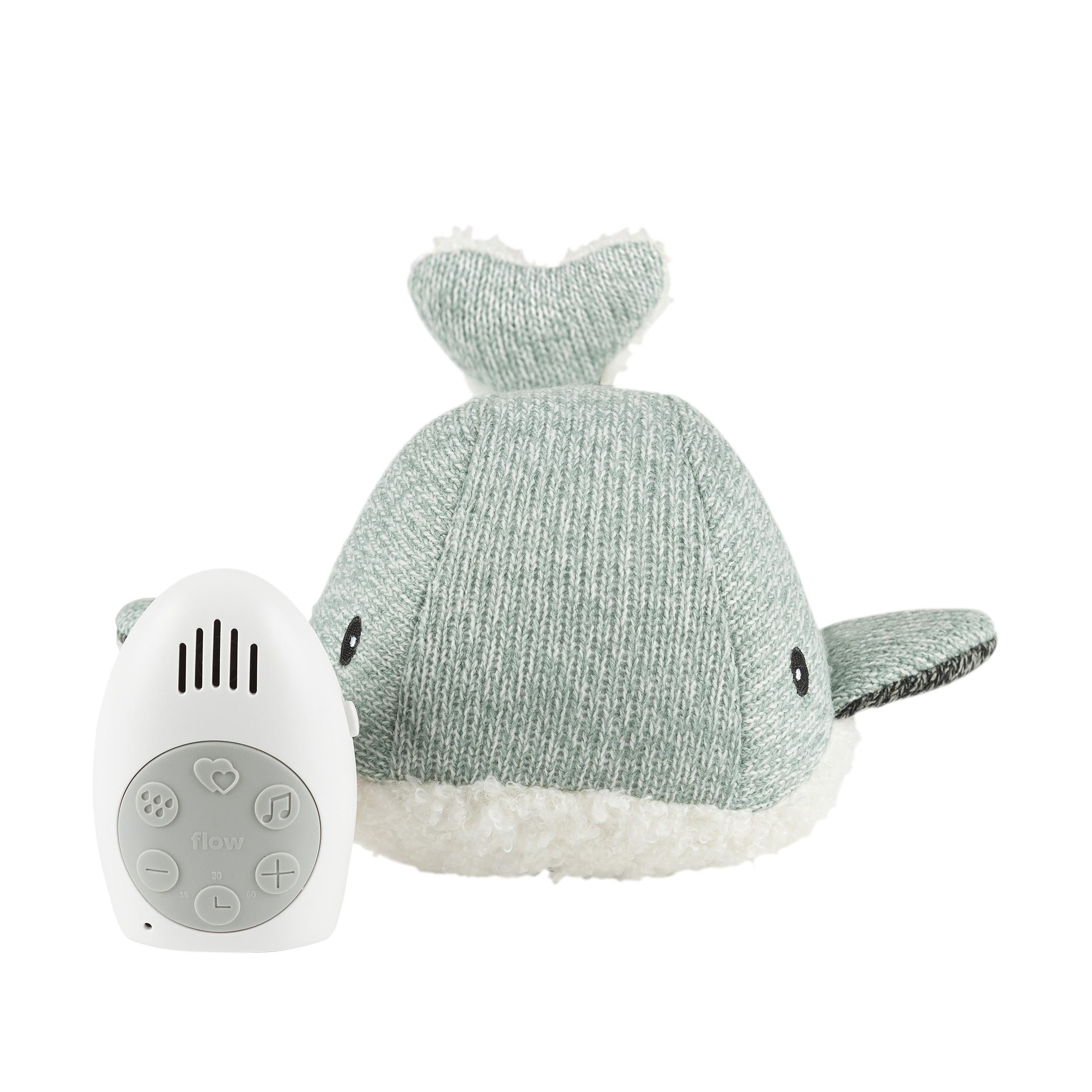 Flow - Hartslag comforter - Moby the Whale - groen