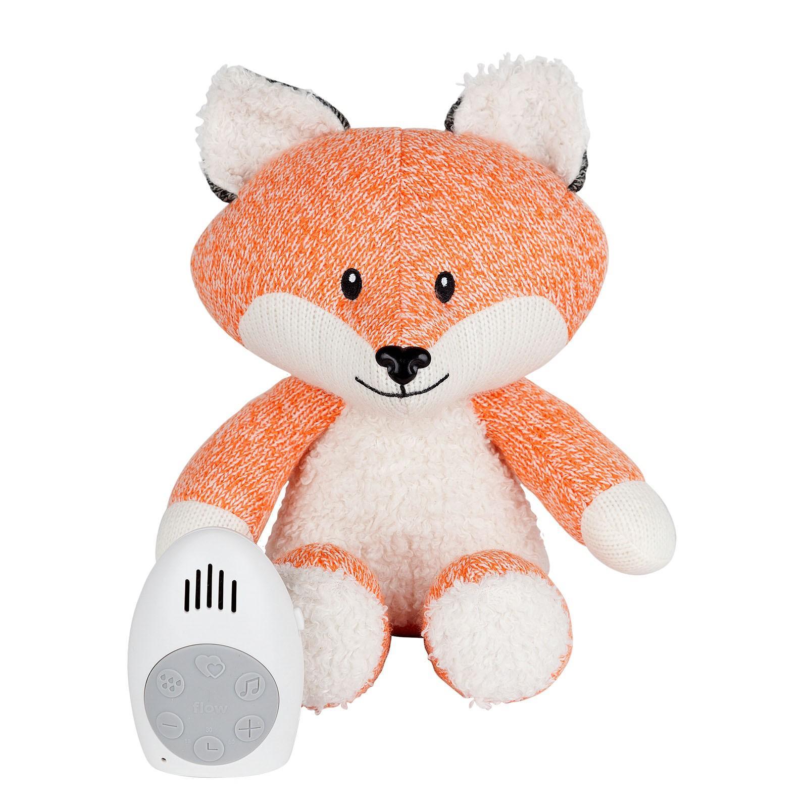 Flow - Hartslag comforter - Robin the fox - oranje