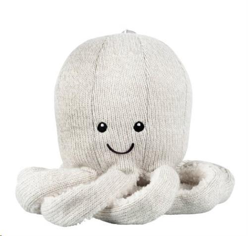 Flow - Knuffel Bluetooth Spreker - Octopus Olly Grey