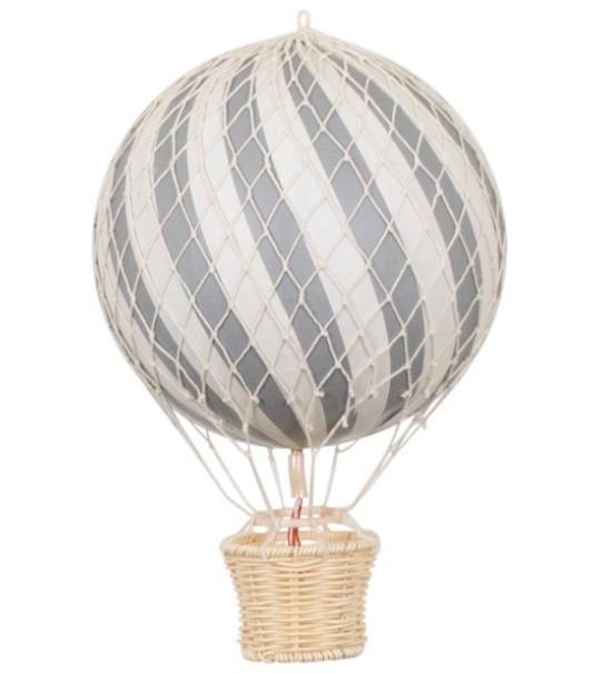Filibabba - 20Cm Luchtballon Grey
