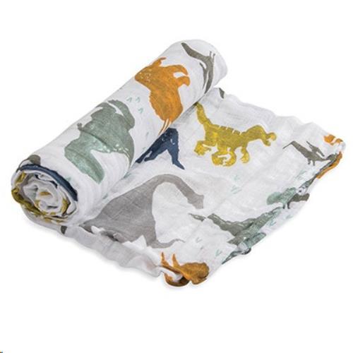 Little Unicorn - Tetra Doek Single - Dino Friends - One Size