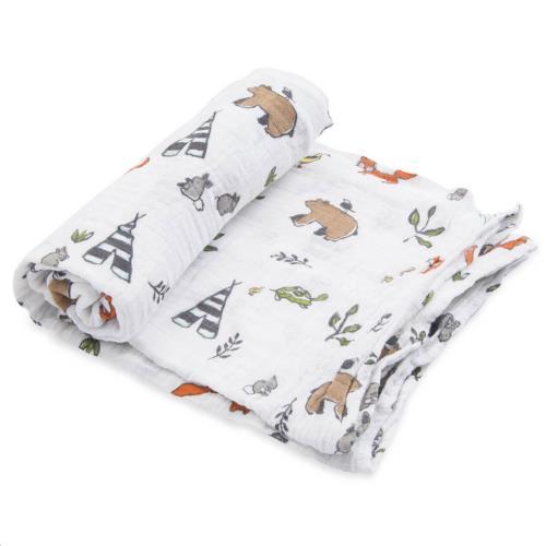 Little Unicorn - Tetra Doek Single - Forest Friends - One Size