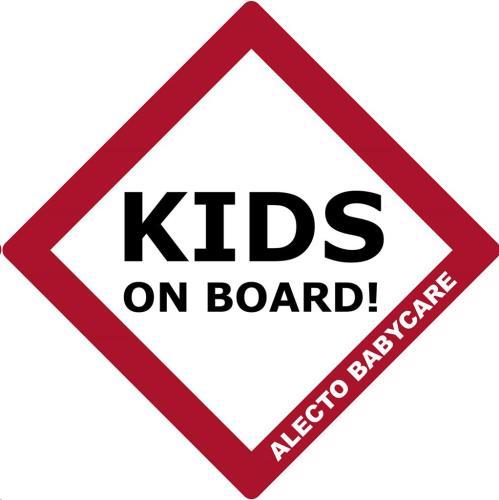 Alecto - Bv-17 - 'Baby On Board'' Sign