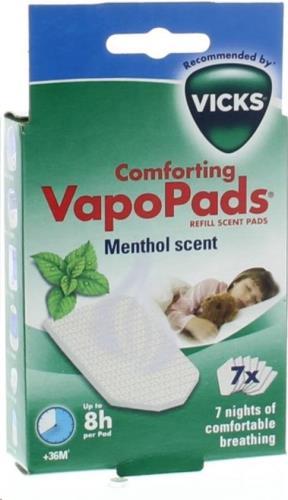 Vicks - Vapo Pads (7) Menthol