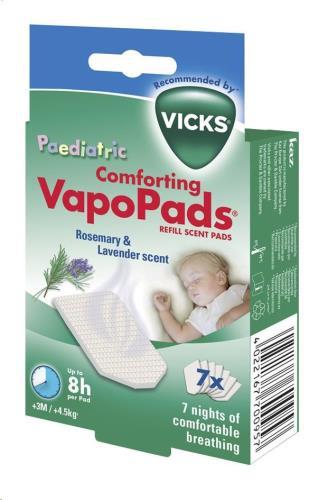 Vicks - Vapo Pads (7) Lavendel/Rozemarijn