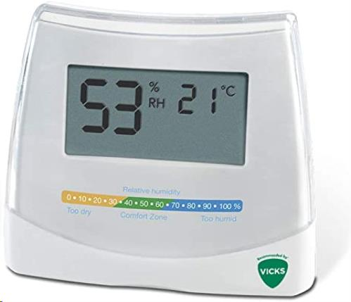 Vicks - 2 In 1 - Hygrometer & Thermometer