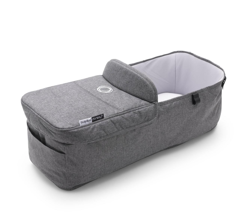 Bugaboo - Donkey3 Bassinet Fabric Complete Grey Melange
