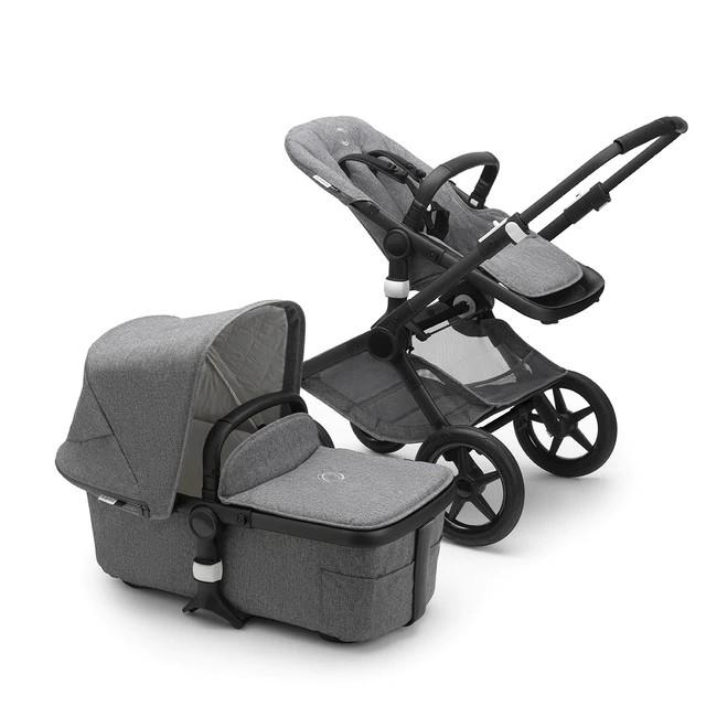 Bugaboo - Fox2 Classic Complete Black/Grey Melange
