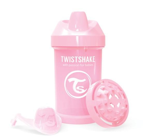 Twistshake - Crawler Cup 300ml Pastel Pink