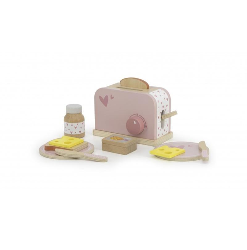 Label-Label - Brood toaster - roze