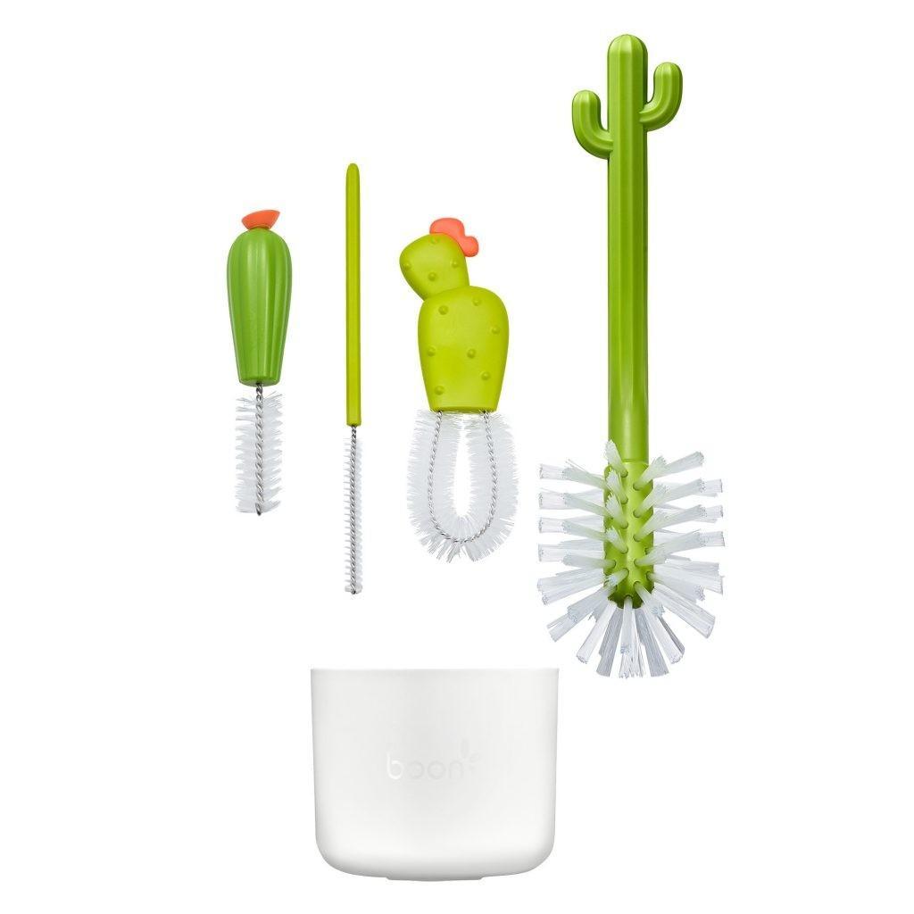 Boon - Flessenborstel Set Cactus