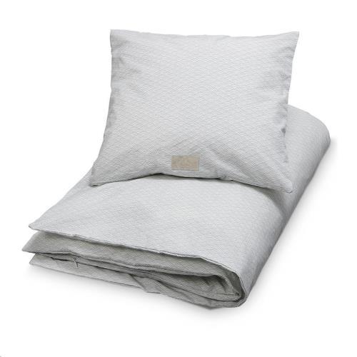 CamCam - Bedding. Adult. Danish 140X200 - Gots P02 Grey Wave