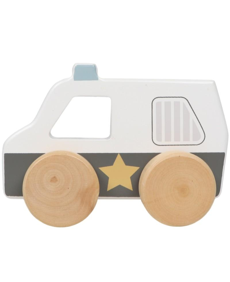 Tryco - Wooden Police Car Toy