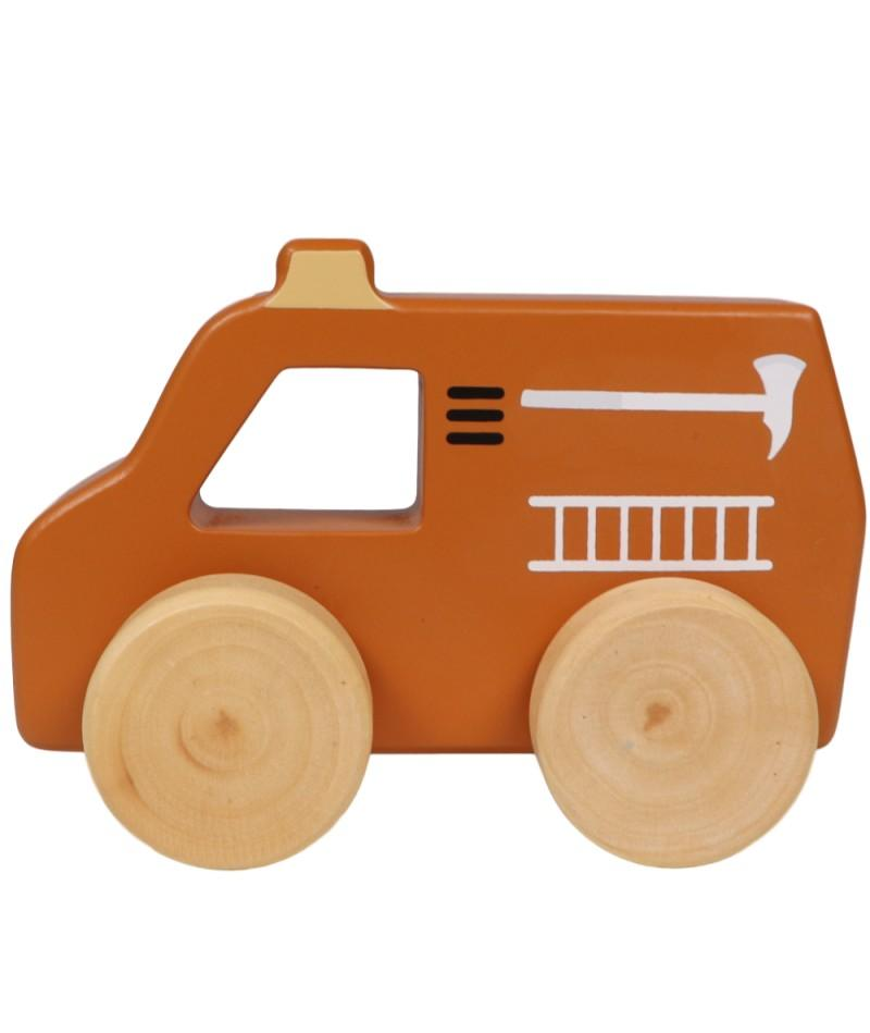 Tryco - Wooden Fire Truck Toy
