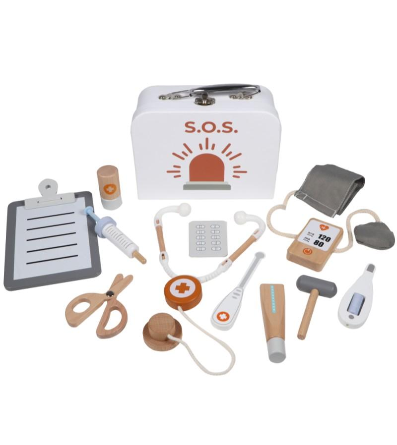 Tryco - Wooden Medical Set with Case