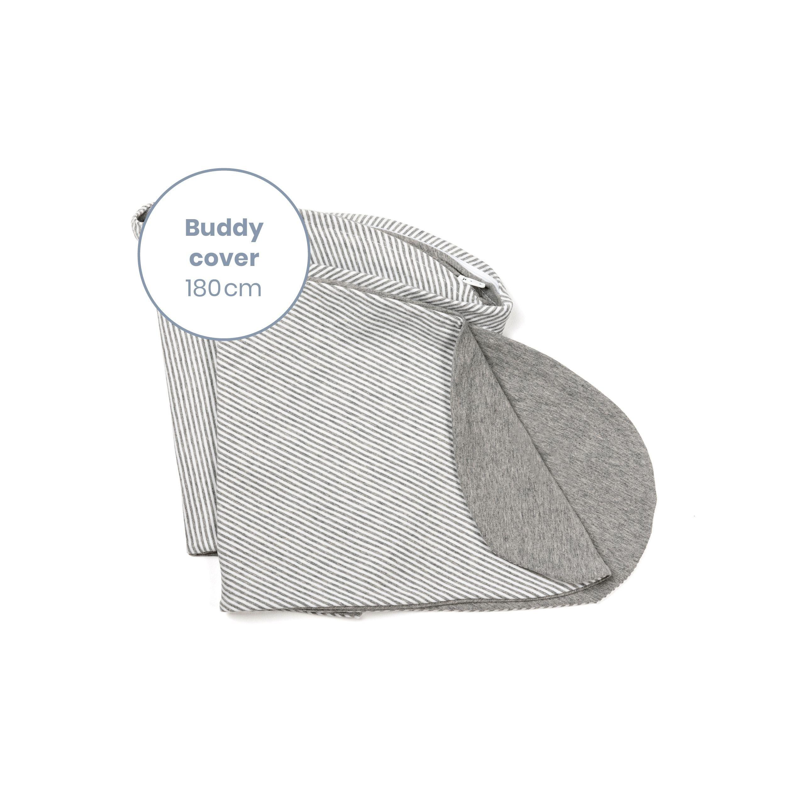 Doomoo - Buddy Extra Hoes Voedingskussen Classic Grey