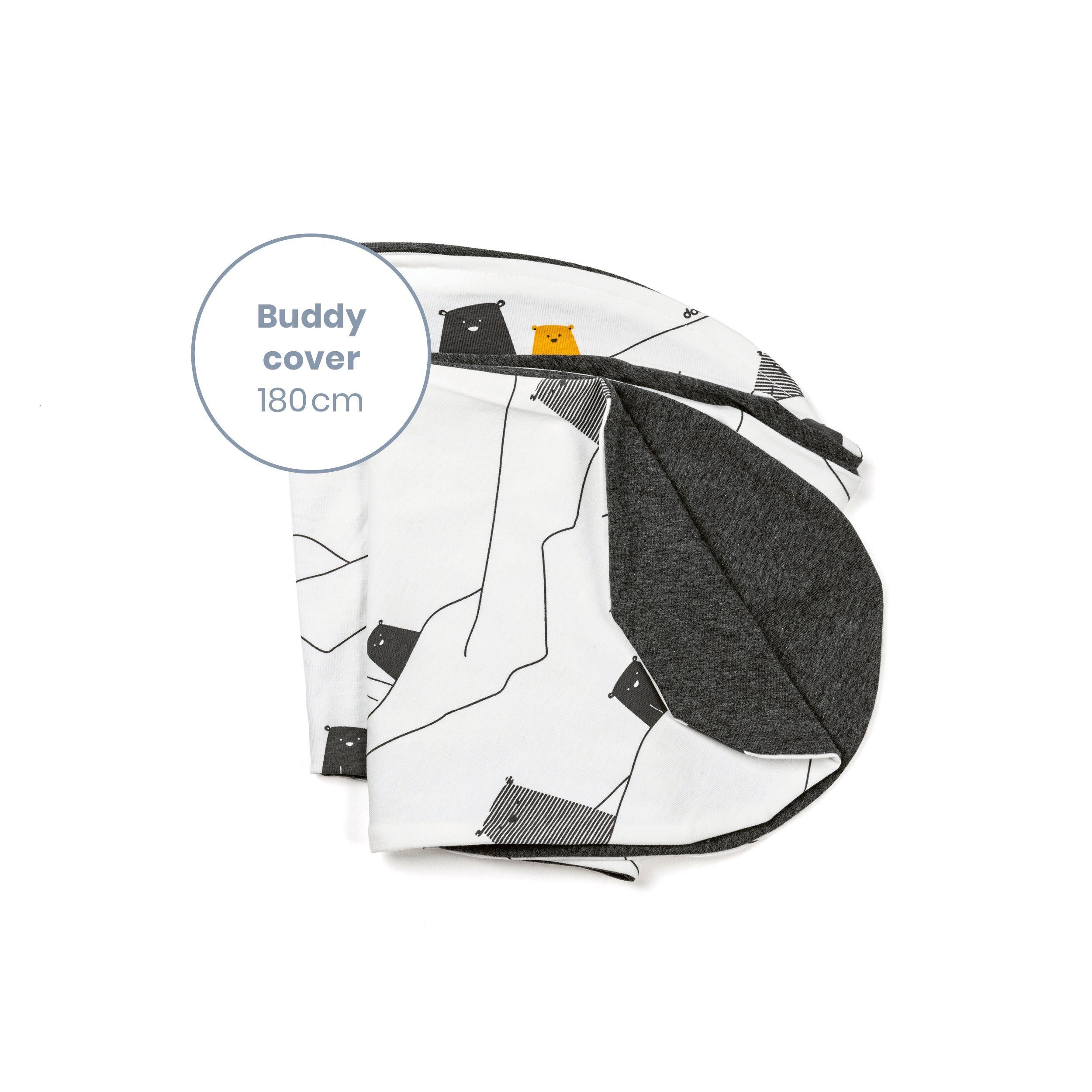 Doomoo - Buddy Extra Hoes Voedingskussen Bear Grey